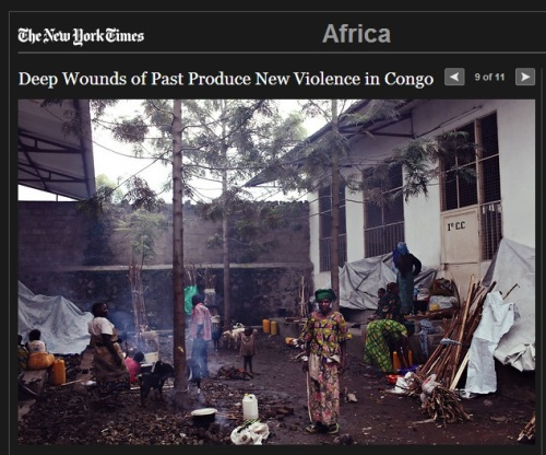 New York Times Slideshow on the M23 situation in DRC