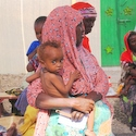 Mother and child in Djibouti.