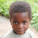 A child in D.R. Congo.
