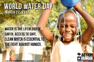 Send an Action Against Hunger e-card to recognize World Water Day.