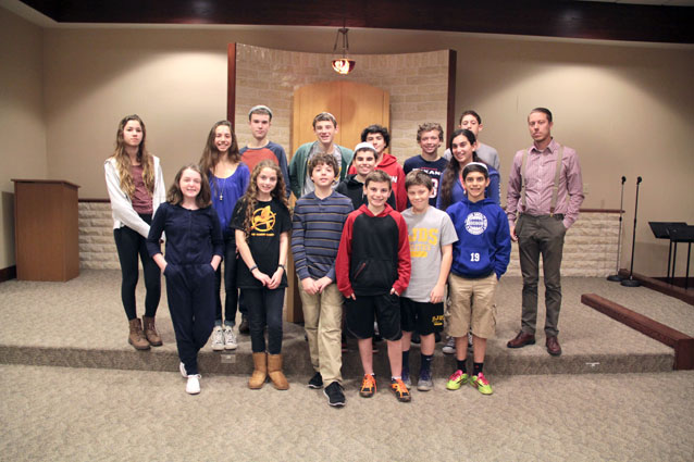 The Milwaukee Jewish Day School students who partnered with Action Against Hunger.