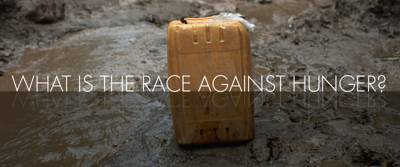 What is the race against hunger?