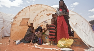 A family during the Horn of Africa drought and food crisis of 2011. Credit: S. Hauenstein Swan