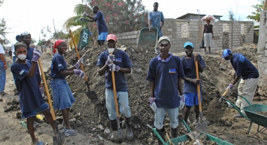ACF cash-for-work programs in Gonaïves, Haiti. Photo: ACF-Haiti