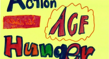 A poster made by Penelope from Rodeph Shalom School in New York City.