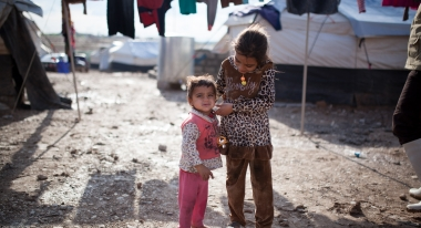 Photo: Florian Seriex for Action Against Hunger, Garmawa refugee camp, Iraqi Kurdistan