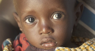 We're helping Miara recover from malnutrition. Photo: ACF-Burkina Faso, V. Vancura