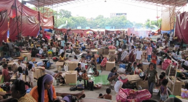 Thousands need our help after a typhoon in the Philippines.