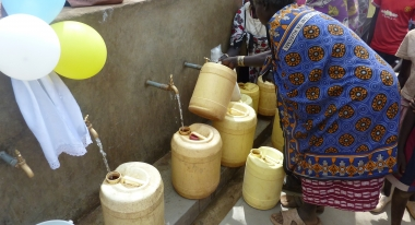 Tatwa water point opens in Kenya CR: Alyssa Zeller for Action Against Hunger