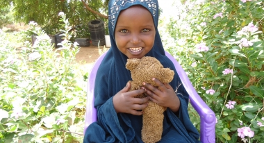 Siham is enjoying a healthy childhood. Photo: ACF Kenya.
