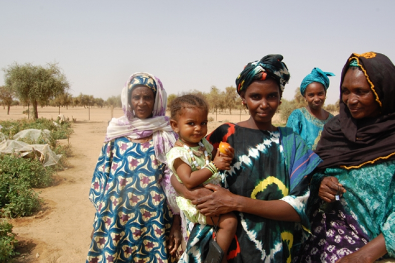 We are working to improve access to food for families like this one worldwide. ACF-Mauritania, A. Garcia