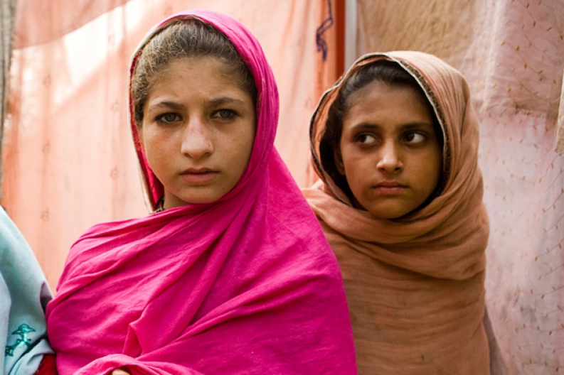 The majority of those displaced by conflict in Northwestern Pakistan are women and girls. Photo: ACF-Pakistan, N. Sobecki