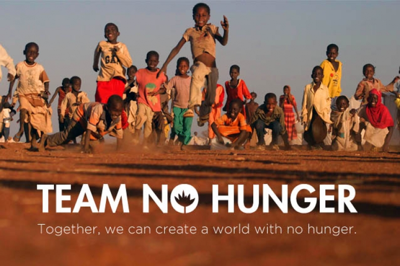 Join Team No Hunger and help us save more young lives.
