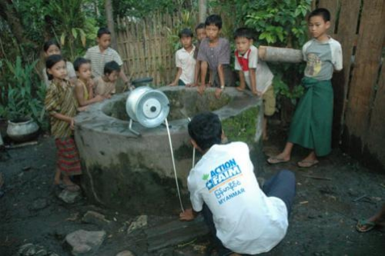 Action Against Hunger's programs in Myanmar, photo courtesy: ACF-Myanmar