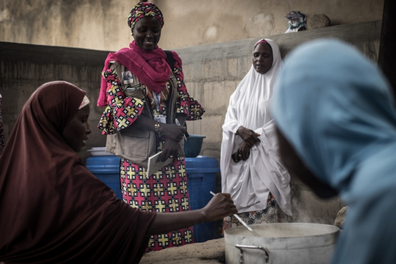 Photo: Guy Calaf for Action Against Hunger, Maiduguri, Borno State, Nigeria