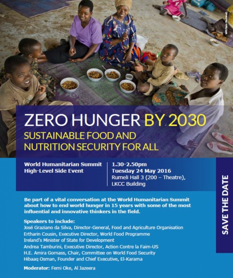 Break Down Barriers to End World Hunger by 2030 | Action