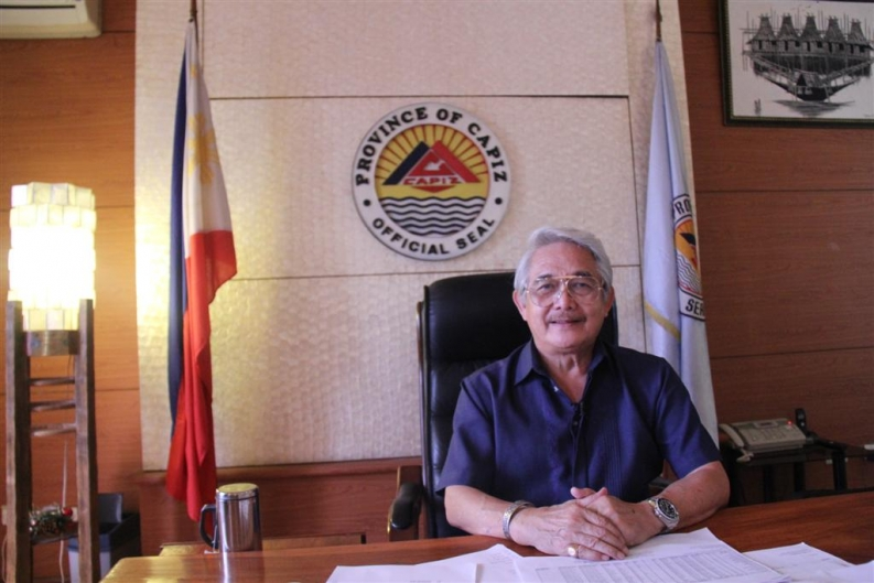 The Governor of Capiz, Victor Tanco. Credit: L. Grosjean