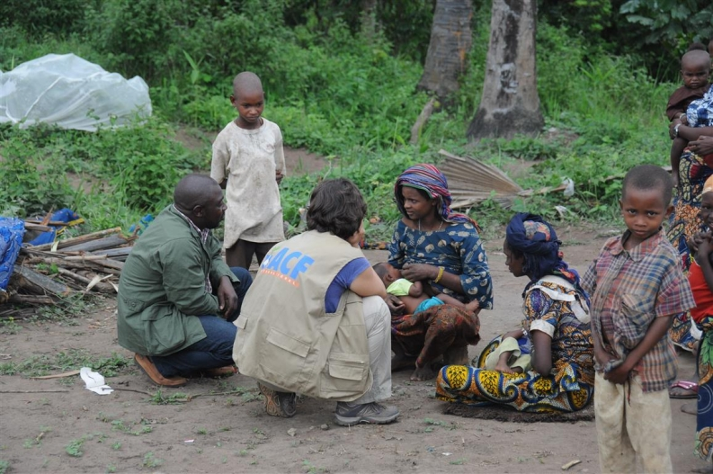 Our teams assess and respond to the needs of displaced families seeking refuge in Cameroon. Photo: ACF-France