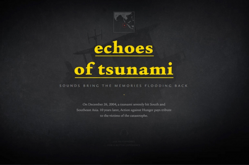 Echoes of Tsunami is our new interactive, digital experience in commemoration of the ten year anniversary of the Southeast Asian tsunami