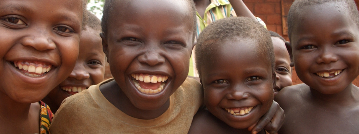Children in Central African Republic are recovering from malnutrition at a treatment center.