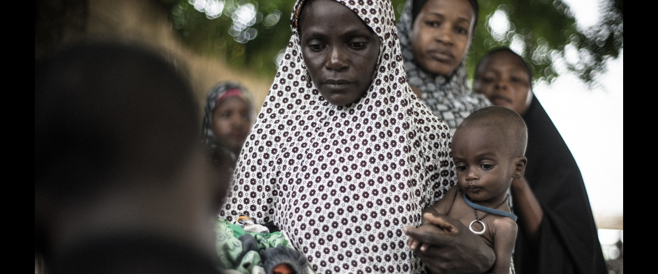 Women and child in Northern Nigeria