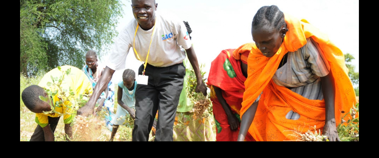 ACF food security experts, South Sudan
