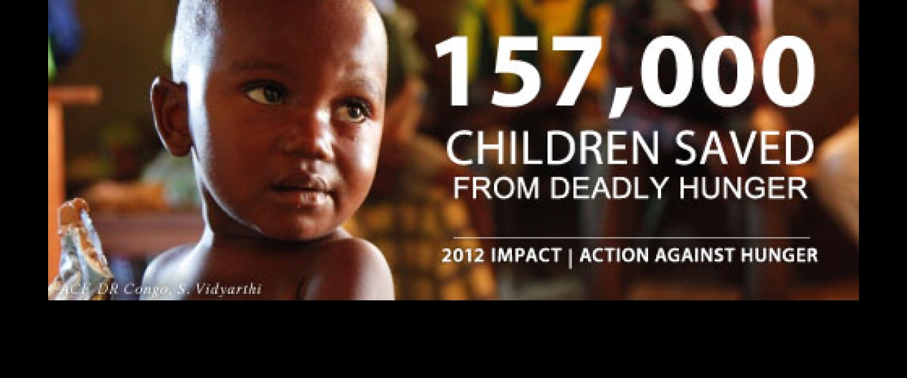 157,000 people saved from deadly hunger.