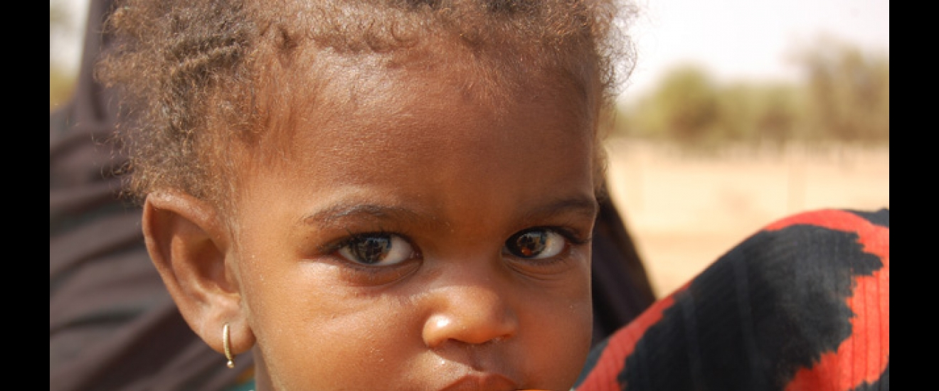 We're helping children all over the world get a healthier start with good nutrition. Photo: ACF-Mauritania, A. Garcia