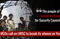 The humanitarian crisis in Yemen is now the worst in the world, yet it has been one year since the United Nations has taken action.