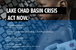 Action Against Hunger sends urgent calls to action to the international community  to improve the humanitarian response to the crisis in Nigeria and the Lake Chad region of Africa.