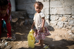 Two thirds of Yemen's population are living without access to safe drinking water. Photo: Florian Seriex for Action Against Hunger, Yemen