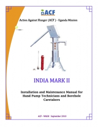installation and maintenance manual for hand pump technicians and rh actionagainsthunger org Car Repair Manual Online Maintenance Person