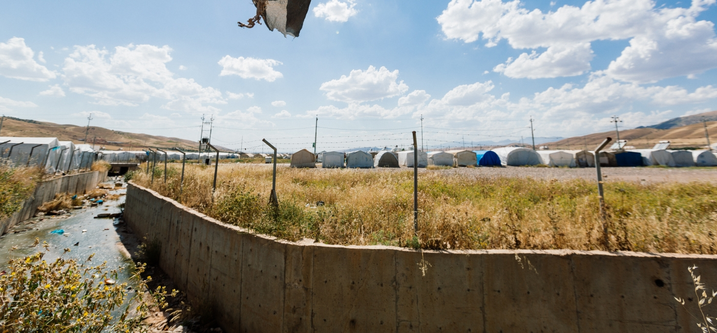 A displacement camp in northern Iraq.