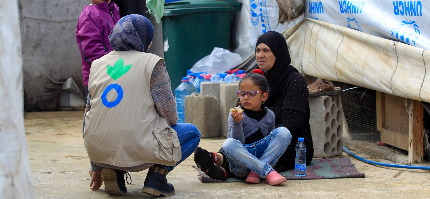 The Syrian conflict has displaced millions of families to neighboring countries like Lebanon.