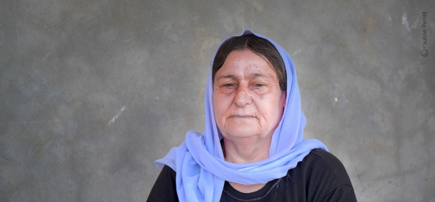 Baran fled ISIS with her family in 2014