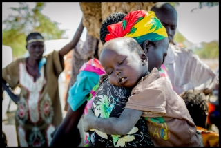 Photo: Andrew Parsons/i-images for Action Against Hunger, South Sudan