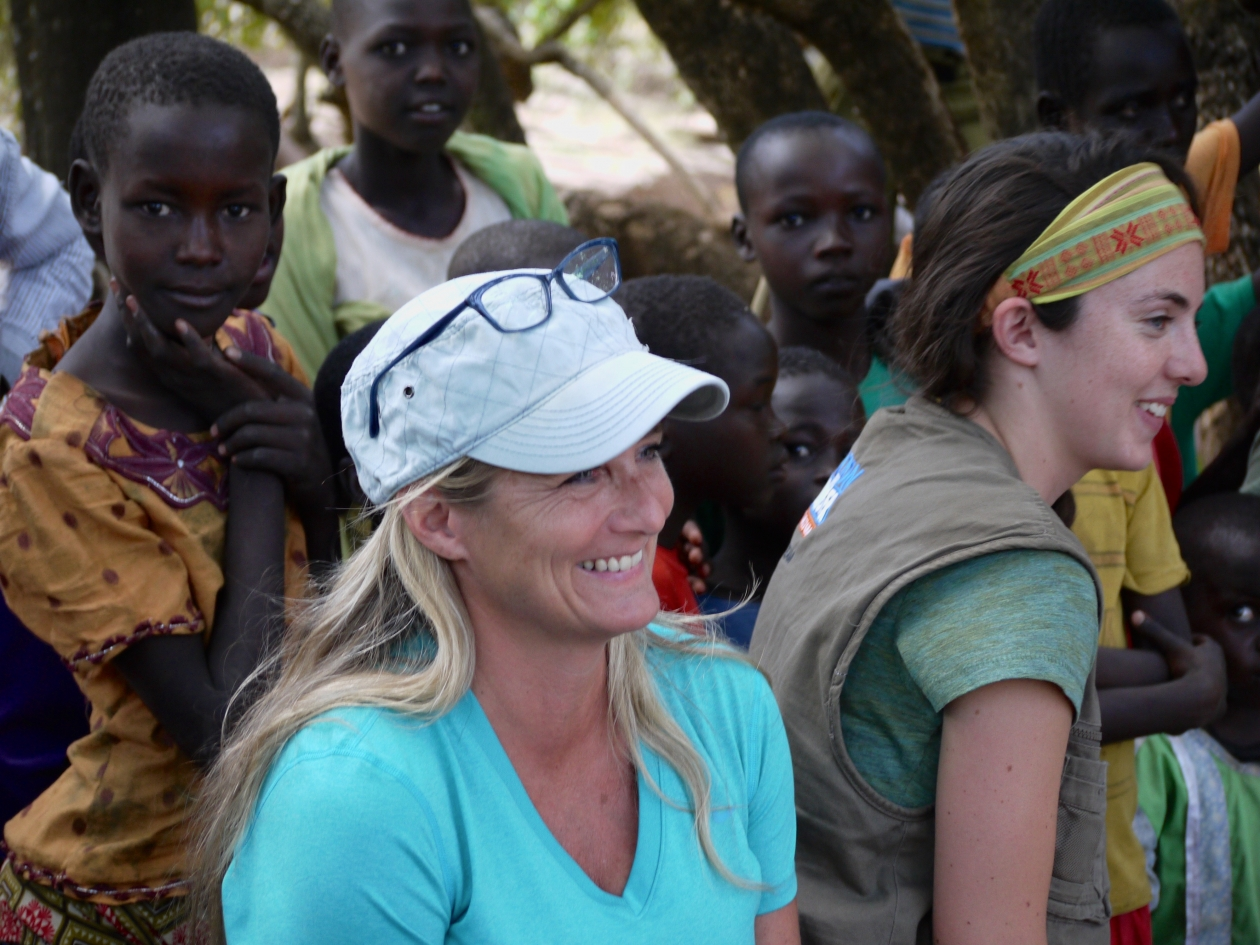 Linda Femling visited Action Against Hunger's programs in Kenya with her daughter in 2015.