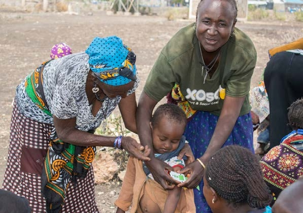 Signs of acute malnutrition and MUAC Action Against Hunger
