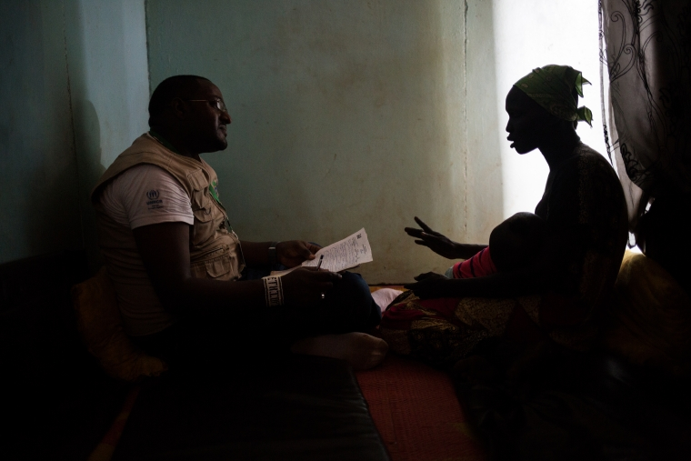 In Nguenyyiel Refugee Camp, Action Against Hunger provides mental health support in group and individual sessions.
